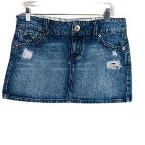 So Wear it Declare it denim mini skirt SIZE: 9